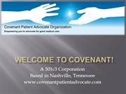 Covenant Patient Advocacy Organization
