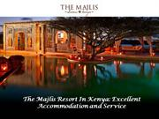 The Majlis Is One Of The Famous Luxury Resorts In Africa