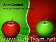 APPLES CHOICES BUSINESS POWERPOINT THEME