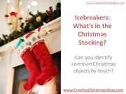 Icebreakers - What's in the Christmas Stocking
