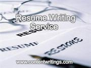 Resume Writing Services from Professional Resume Writers