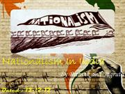 Nationalism In India - Show(Final)