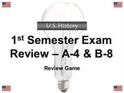 1st Semester Final Exam Review EOC PRACTICE 2012-2013