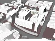 RHH Redevelopment staging