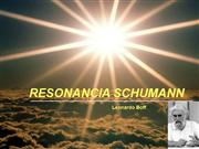 La Resonancia Schumann