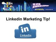 Linkedin Marketing Tip