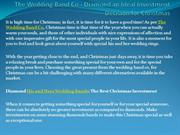 The Wedding Band Co - Diamond an Ideal Investment Decision for Christm