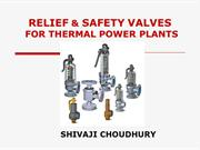 RELIEF AND SAFETY VALVES FOR THERMAL POWER PLANTS