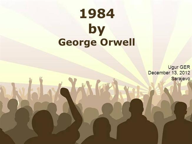 an overview of the political parable of the novel 1984 by george orwell Struggling with the themes of george orwell's animal farm it sounds a lot like orwell is faulting the lower-class animals for not being smart enough to.