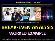 IB Business and Management Break-Even Analysis Web Ready