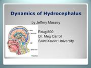 Hydrocephalus PPT Final1
