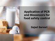 PCR and biosensor application in food safety