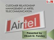 CRM at AIRTEL PPT