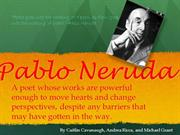 FINAL PABLO NERUDA POWERPOINT