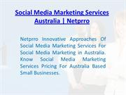 Social Media Marketing Services Australia | Netprro