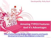 Amazing TYPO3 Features And It's Advantages