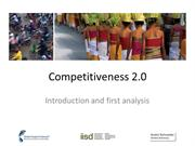 Competitiveness 2.0 applied to a Country