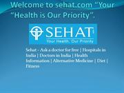 Free doctor online consultation | List of hospitals in India