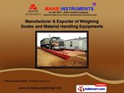 Weighing Scales & Weighbridge by Mansi Instruments, Ahmedabad