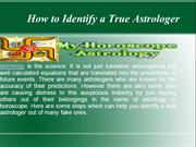 How to Identify a True Astrologer