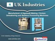 Agarbatti & Bamboo Stick Making Machines by U.K. Industries, Bengaluru