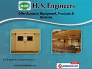 Acoustic Enclosure by H. S. Engineers, Noida