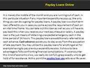Get a fast cash payday loan here