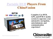 Portable DVD Players From China Vasion
