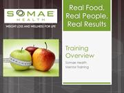 Somae Health Mentor Training (overview)