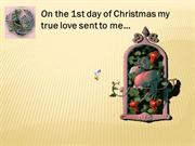 12 days of Christmas 12/21/12