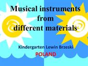 Musical instruments POLAND