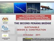 cable stayed segmental bridge