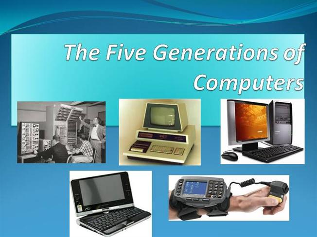 first to fifth generation of computer