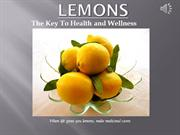 Lemons: The Key to Health and Wellness