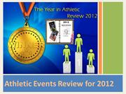 Important Athletic Events Review for 2012