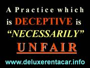 Deluxe Rent A Car LAX ACRF Fraud -Quick