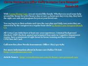 Cerna Home Care Offer Daily in Home Care Newport Beach CA