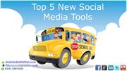 Top 5 New Social Media Tools