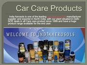 Car care products in India
