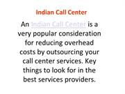 Affordable Indian Call Center
