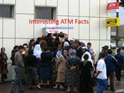 Interesting ATM Facts and Statistics