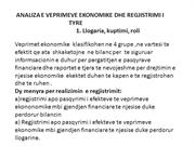 Tema 3 Analiza e veprimeve ekonomike dhe regjistrimi i tyre