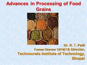 Food Grain Processing