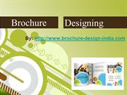 Unique brochure designing