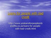 Payday Loans for People with Bad Credit- Instant Cash Online