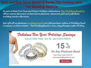 Save and Give More Wedding Bands This Holidays with The Wedding Band C
