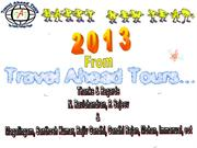 New Year 2013 Greetings from Travel Ahead Tours