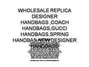 Wholesale replica designer handbags tote