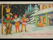 New Year Vintage Greetings