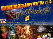 Merry Christmas 2012 & Happy New Year 2013 - John Lennon - Jade Bui